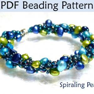 Necklace How To Beading Pattern PDF..