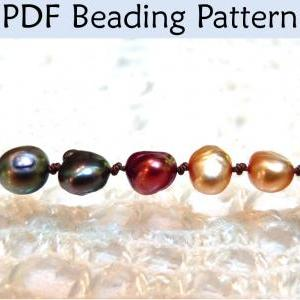 Beading Tutorial Pattern - Pearl Kn..