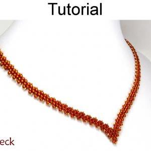 Peyote Stitch Necklace Patterns - D..
