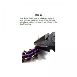 Beading Tutorial Necklace - Diagona..