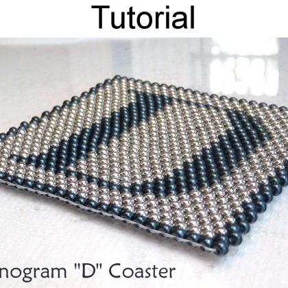 Beading Tutorial Pattern - Coaster ..