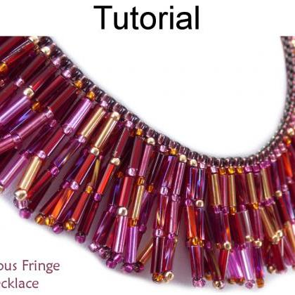 Beading Tutorial Necklace Pattern -..