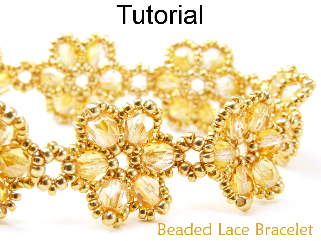 Beading Tutorial Pattern Bracelet Beadweaving Beaded Flowers Jewelry Simple Bead Patterns Lace 471
