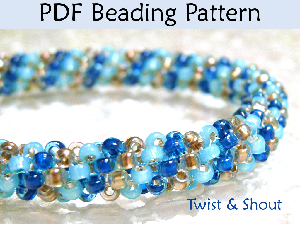 How to peyote stitch is easier than you think | interweave.