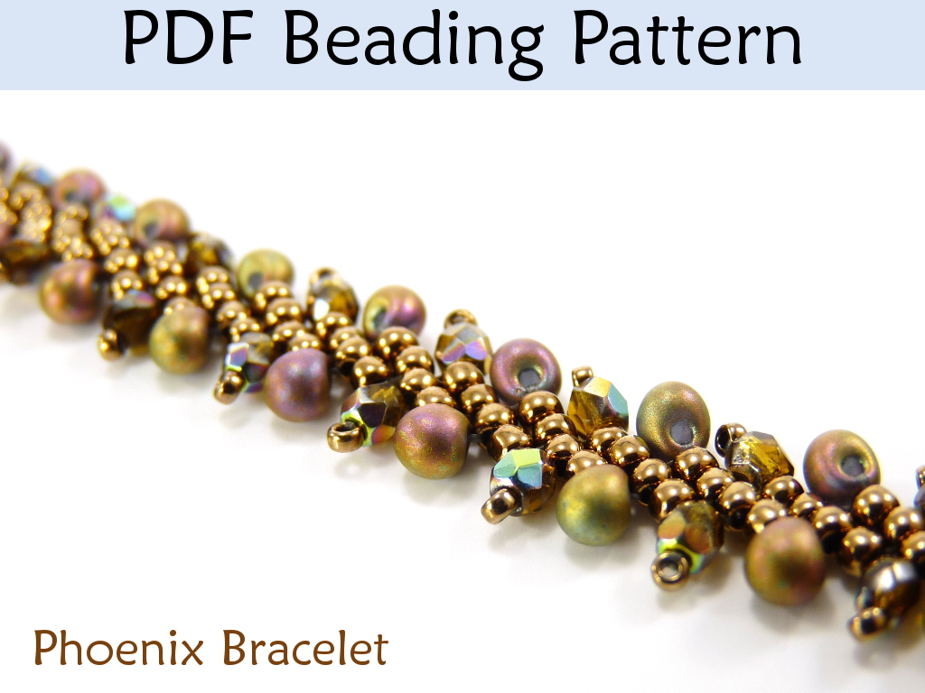 Jewelry Making Beading Tutorial Bracelet - St. Petersburg Stitch ...