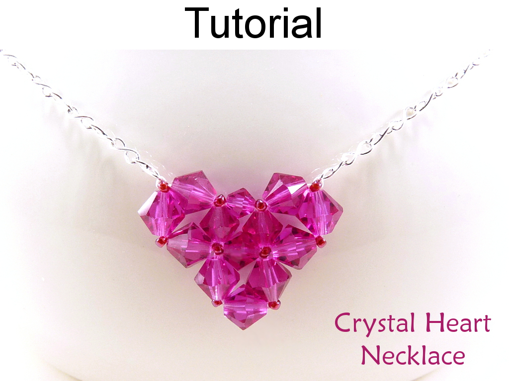 Beading Tutorial Pattern Necklace Valentines Heart