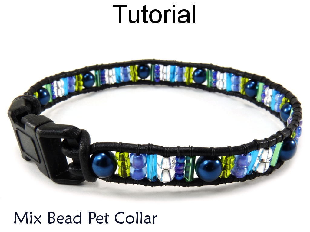 Beading Tutorial Pattern Bracelet - Brick Stitch - Simple Bead