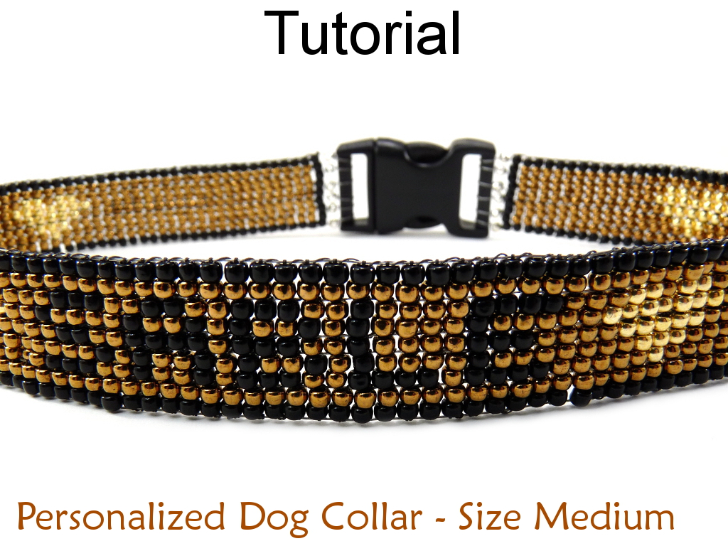 Beading Tutorial Pattern Bracelet - Brick Stitch Animal Print