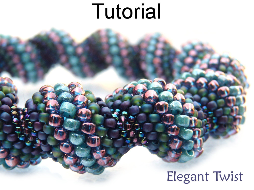 tubular peyote stitch instructions